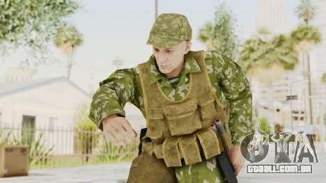 MGSV The Phantom Pain Soviet Union Vest v2 para GTA San Andreas