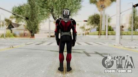Captain America Civil War - Ant-Man para GTA San Andreas terceira tela
