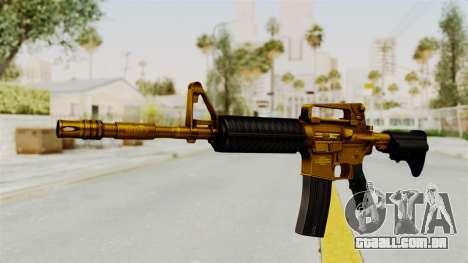 M4A1 Gold para GTA San Andreas