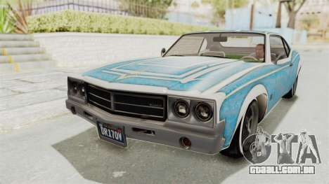 GTA 5 Declasse Sabre GT2 para o motor de GTA San Andreas