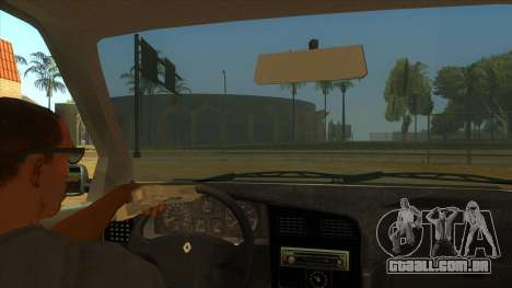 Renault 19 Coupe para GTA San Andreas vista interior