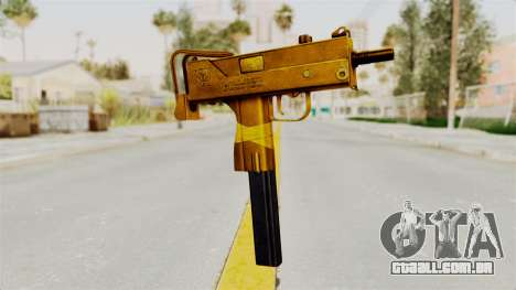 MAC-10 Gold para GTA San Andreas