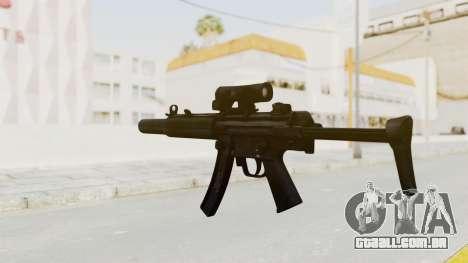 MP5SD para GTA San Andreas terceira tela