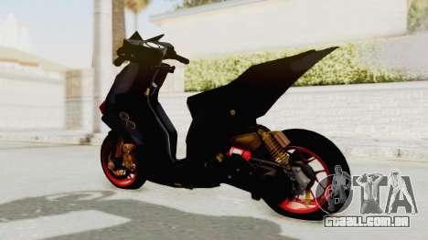 Honda Vario Concept 200CC para GTA San Andreas esquerda vista