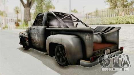GTA 5 Slamvan Race PJ2 para GTA San Andreas esquerda vista
