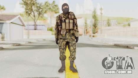 COD Black Ops Russian Spetznaz v5 para GTA San Andreas segunda tela