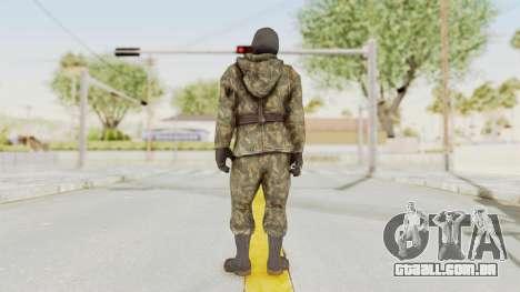 COD Black Ops Russian Spetznaz v2 para GTA San Andreas terceira tela