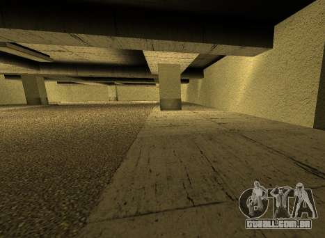 LSPD New Garage para GTA San Andreas quinto tela