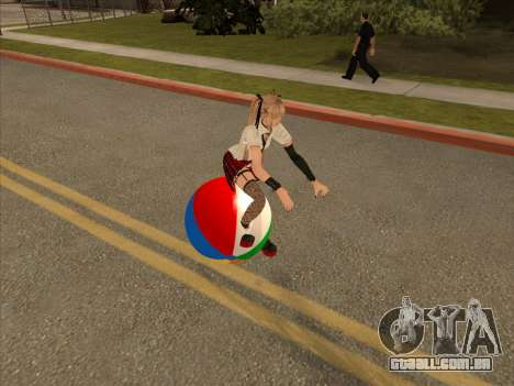 Beachball para GTA San Andreas esquerda vista