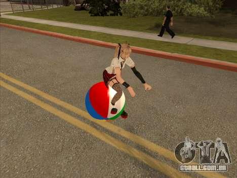 Beachball para GTA San Andreas esquerda vista