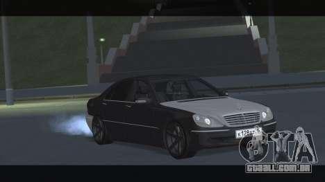 Mercedes S600 W220 JoRick Revazov para GTA San Andreas