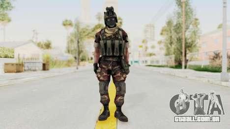 Battery Online Russian Soldier 3 v1 para GTA San Andreas segunda tela