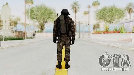 CoD MW3 Russian Military SMG v3 para GTA San Andreas terceira tela