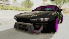 Nissan Silvia S14 Drift Monster Energy Falken para GTA San Andreas