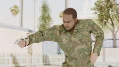 MGSV Ground Zeroes US Soldier No Gear v1 para GTA San Andreas