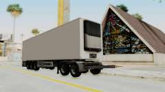 Volvo FM Euro 6 6x4 Tandem v1.0 Trailer para GTA San Andreas