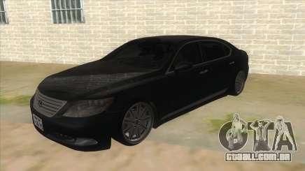 Lexus LS600HL 2008 para GTA San Andreas