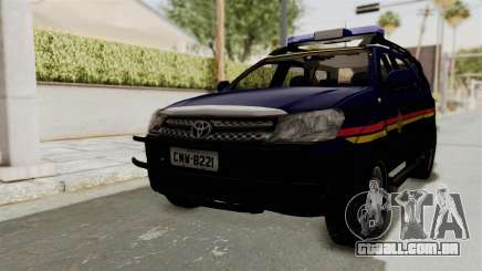 Toyota Fortuner JPJ Dark Blue para GTA San Andreas