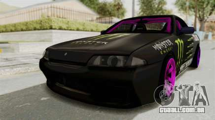 Nissan Skyline R32 Drift Monster Energy Falken para GTA San Andreas