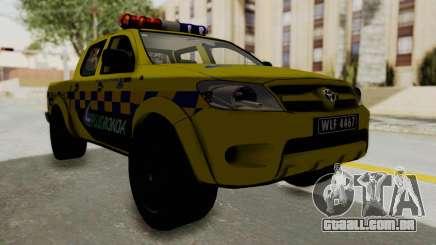 Toyota Hilux Expressway Patrol para GTA San Andreas