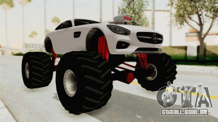 Mercedes-Benz AMG GT 2016 Monster Truck para GTA San Andreas