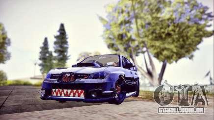 Subaru Impreza WRX STI Dark Knight para GTA San Andreas
