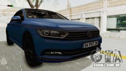 Volkswagen Passat B8 2016 Highline IVF para GTA San Andreas