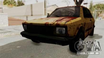 Zastava Yugo Koral 55 Rusty para GTA San Andreas