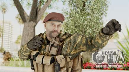 COD Black Ops Russian Spetznaz v7 para GTA San Andreas