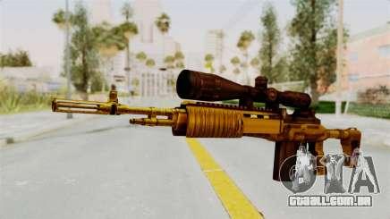 M14EBR Gold para GTA San Andreas