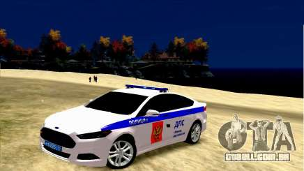 Ford Mondeo Russian Police para GTA 4