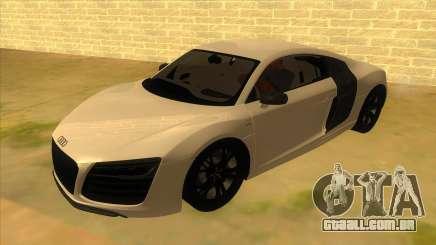 Audi R8 5.2 V10 Plus para GTA San Andreas