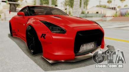 Nissan GT-R R35 Liberty Walk LB Performance v2 para GTA San Andreas