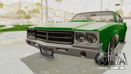 GTA 5 Declasse Sabre GT2 para GTA San Andreas