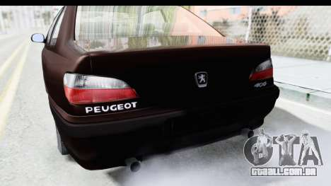 Peugeot 406 Coupe para vista lateral GTA San Andreas