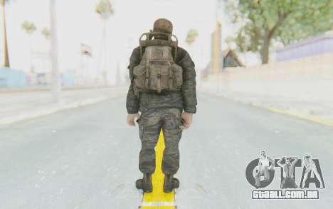 COD BO PVT Scott Vietnam para GTA San Andreas terceira tela