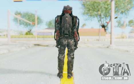 CoD AW Atlas Elite para GTA San Andreas terceira tela