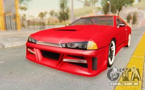 Elegy GT v1 para GTA San Andreas traseira esquerda vista