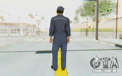 Mafia 2 - Joe Empire Arms Clothes para GTA San Andreas terceira tela