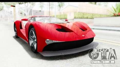 GTA 5 Vapid FMJ IVF para GTA San Andreas vista direita