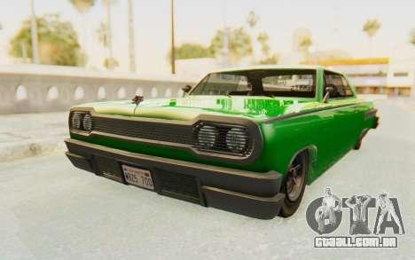 GTA 5 Declasse Voodoo SA Lights para GTA San Andreas vista direita