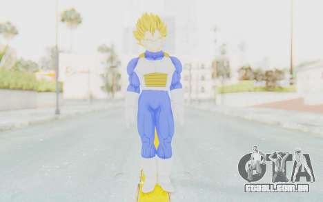Dragon Ball Xenoverse Vegeta Android Saga SSJ para GTA San Andreas segunda tela