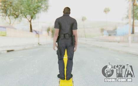 CoD BO2 LAPD v3 para GTA San Andreas terceira tela