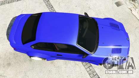 GTA 5 BMW M3 (E36) Street Custom [blue dials] v1.1 voltar vista