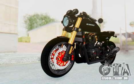 Kawasaki Z1000 Moghe Cafe Racer para GTA San Andreas vista direita