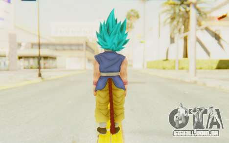 Dragon Ball Xenoverse Goku Kid GT SSGSS para GTA San Andreas terceira tela