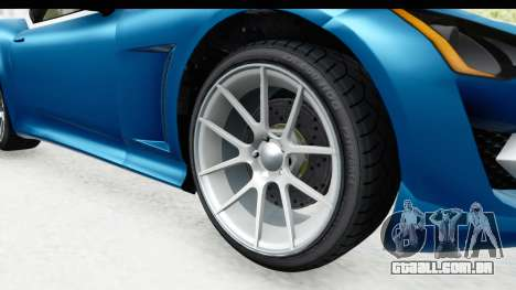GTA 5 Lampadati Furore GT SA Lights para GTA San Andreas vista traseira