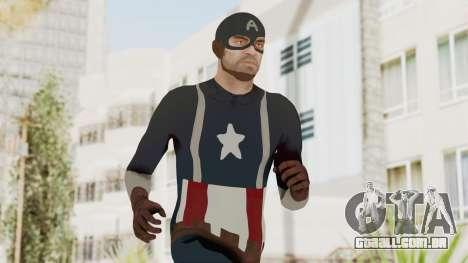 Trevor in Captain America Suit para GTA San Andreas