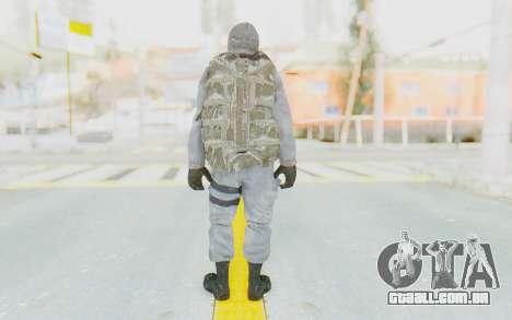 COD BO Grigori Weaver Winter para GTA San Andreas terceira tela