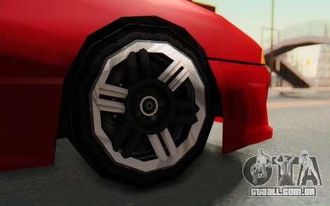 Elegy GT v1 para GTA San Andreas vista interior